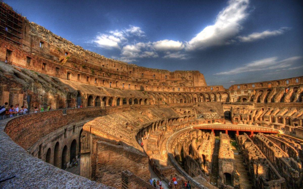 Roma Colosseum in Architecture – Wugange.