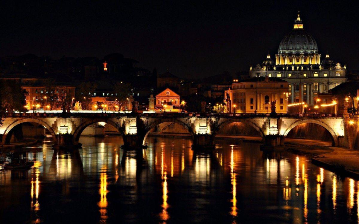 Night On Roma Wallpaper For IPhone #9685 Wallpaper | Wallpaper …