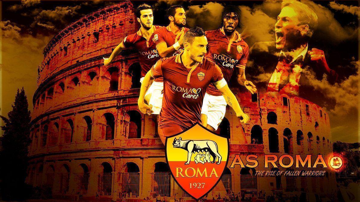 As Roma Wallpaper Squad 2015 #12098 Wallpaper | Cool Walldiskpaper.com