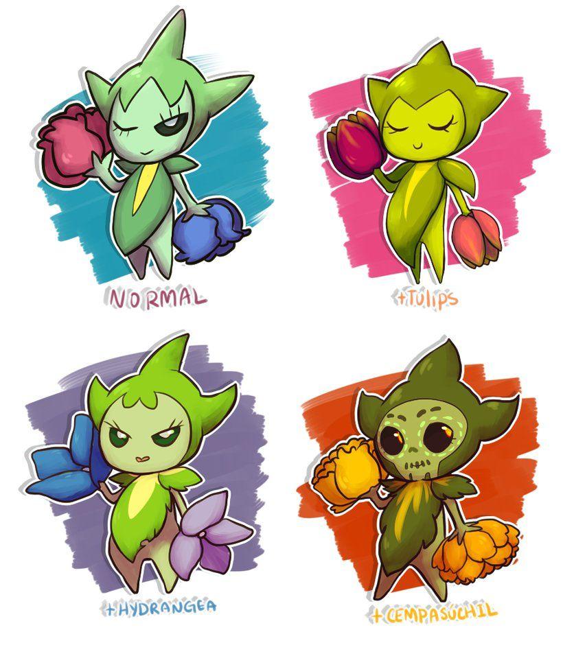 Roselia – Pokemon Variations by ShounenRaccoon on DeviantArt