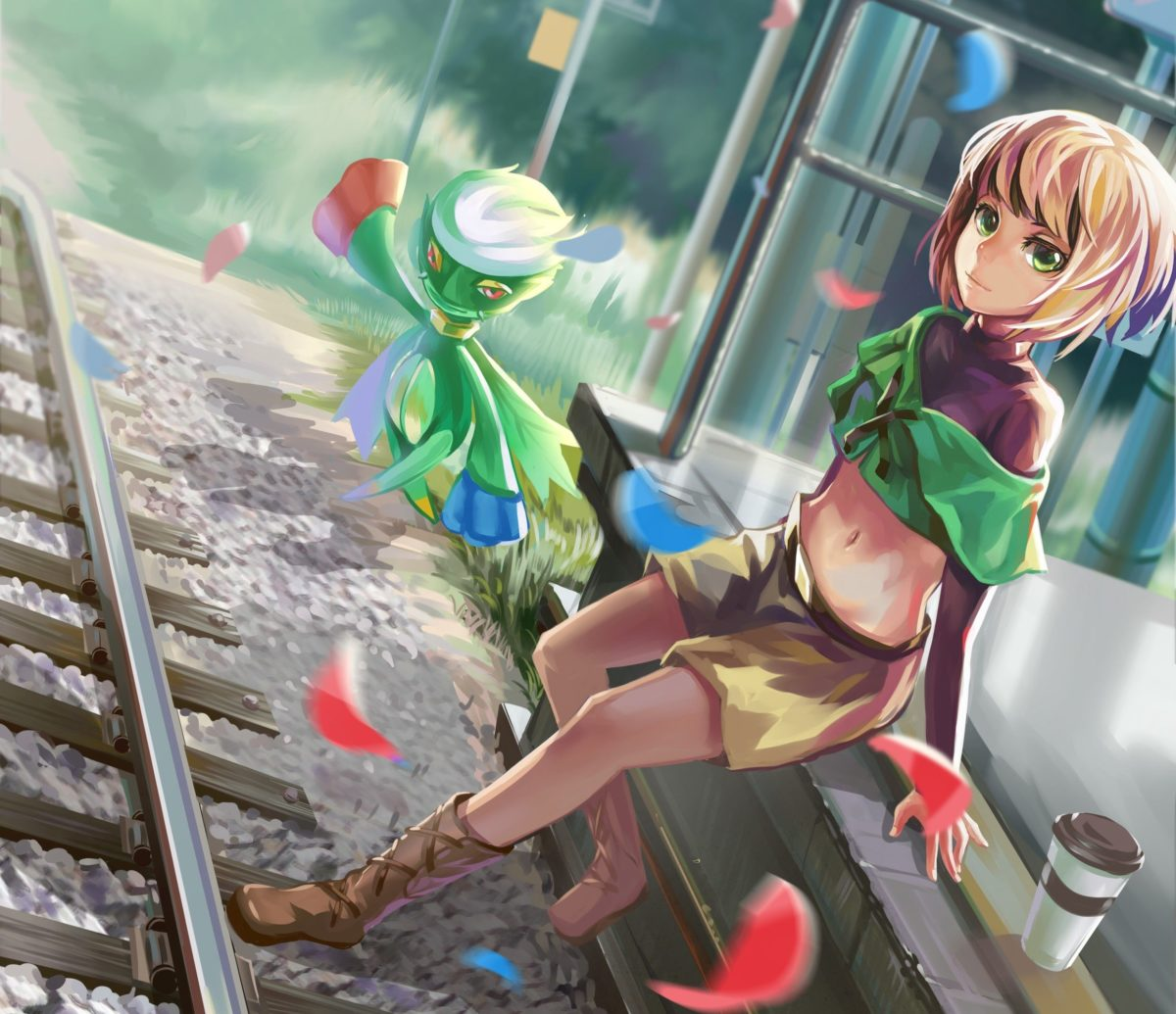 Pokemon trainer and Roselia Full HD Wallpaper and Background Image …