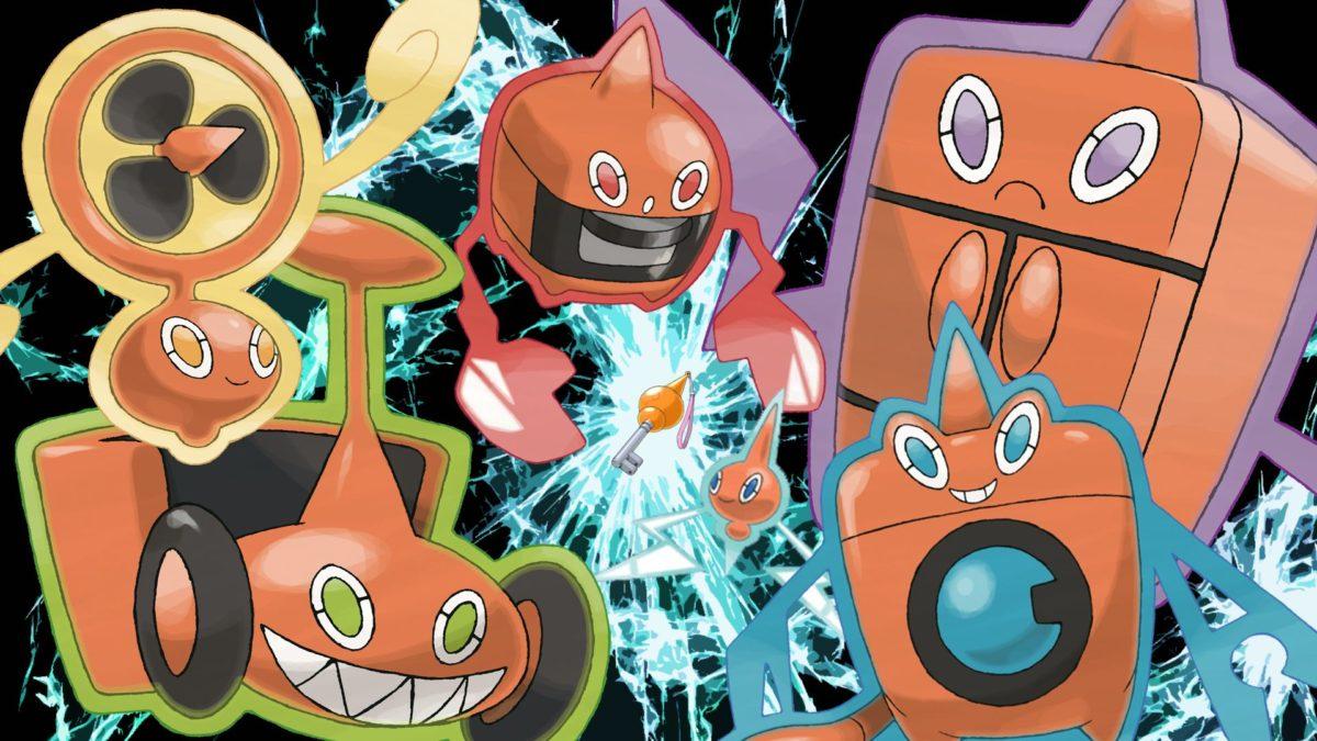 Pokemon, Rotom – Free Wallpaper / WallpaperJam.com