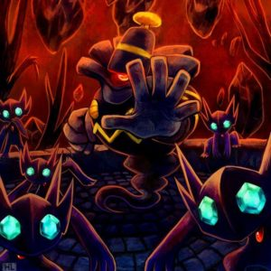 download This is Mr. Dusknoir and his Sableye gang. He tried to harm us, but …