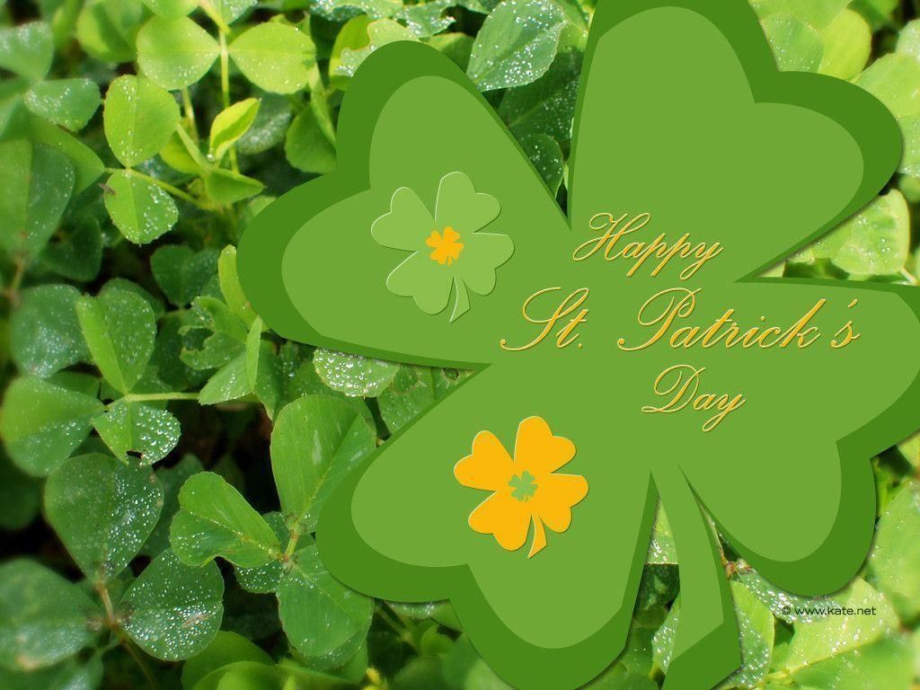 Free St. Patrick's Day Wallpapers by Kate.