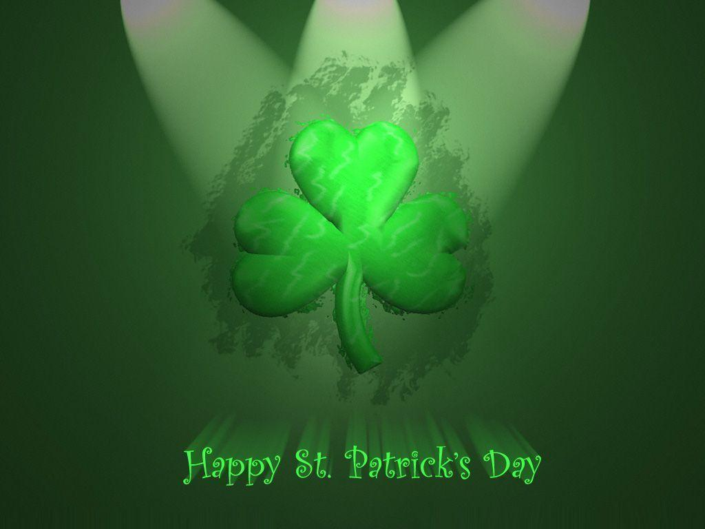 St. Patrick's Day Wallpaper for DTP Projects and Your Computer