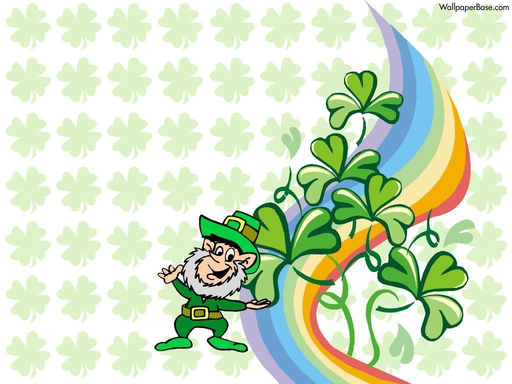 Get Lucky with Leprechaun Desktop Wallpaper for St. Patrick's Day