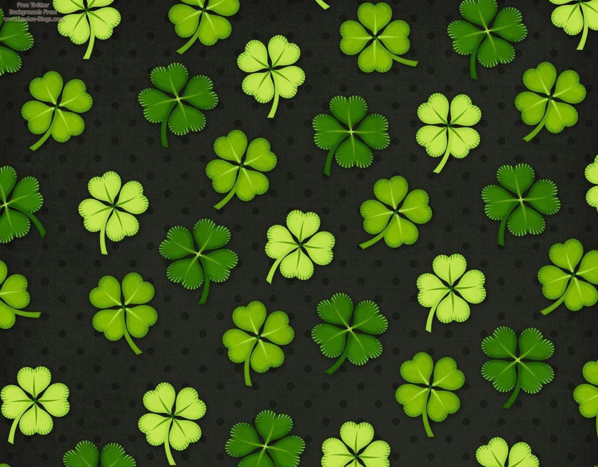 St. Patrick's Day Free Twitter Backgrounds | Leelou Blogs