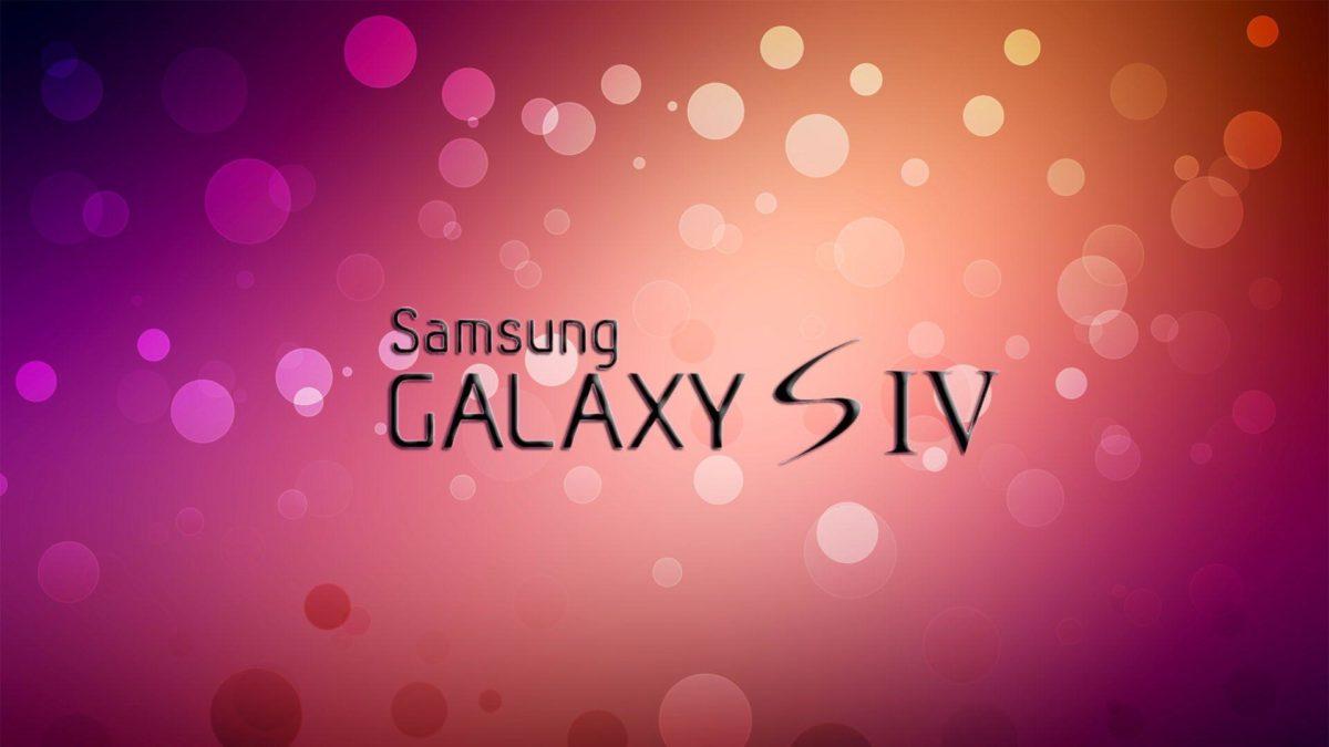 Samsung Galaxy S4 Logo Wallpaper – Nexus Wallpaper