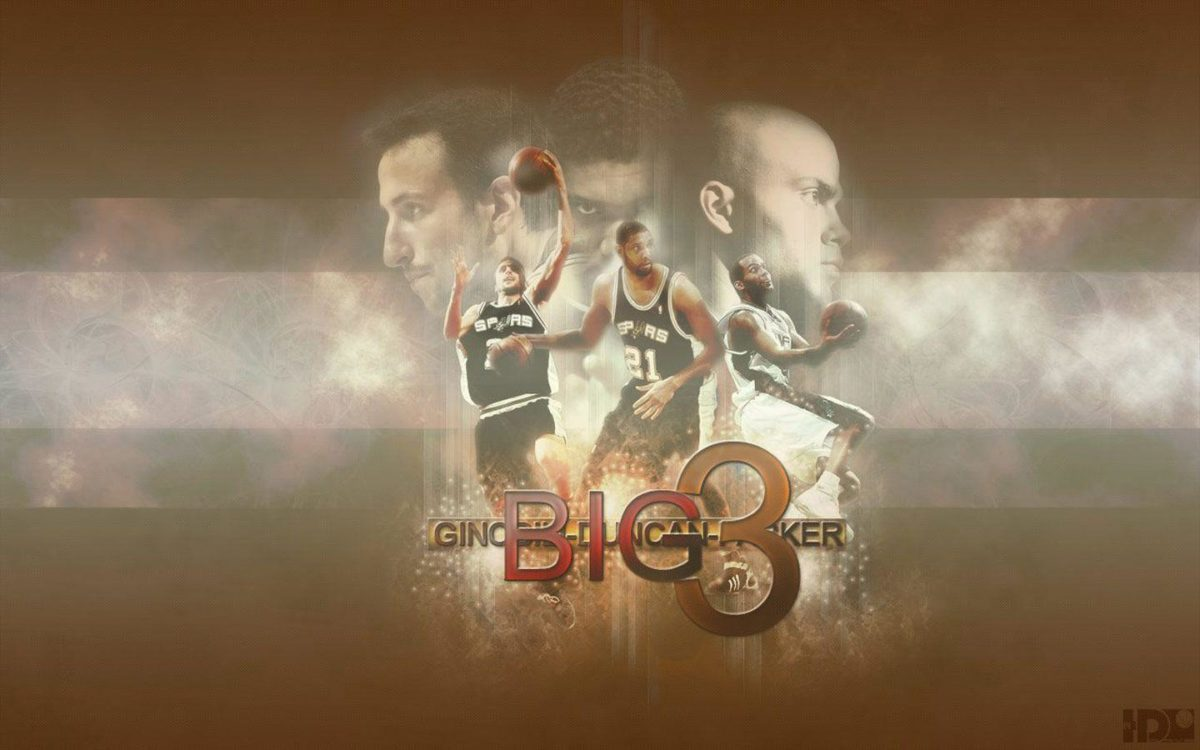 San Antonio Spurs Big 3 Widescreen Wallpaper | Basketball …