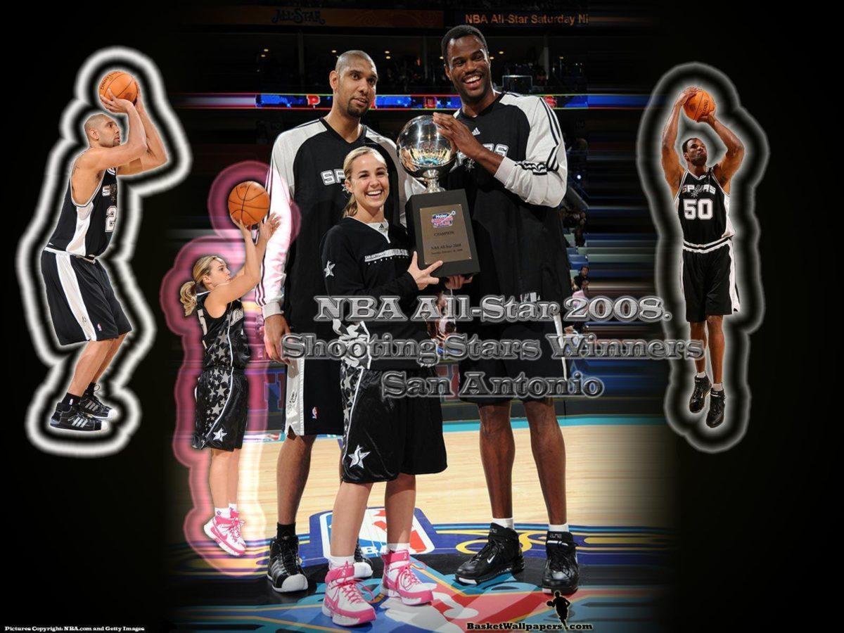 San Antonio Spurs Shooting Stars Wallpaper | Basketball Wallpapers …