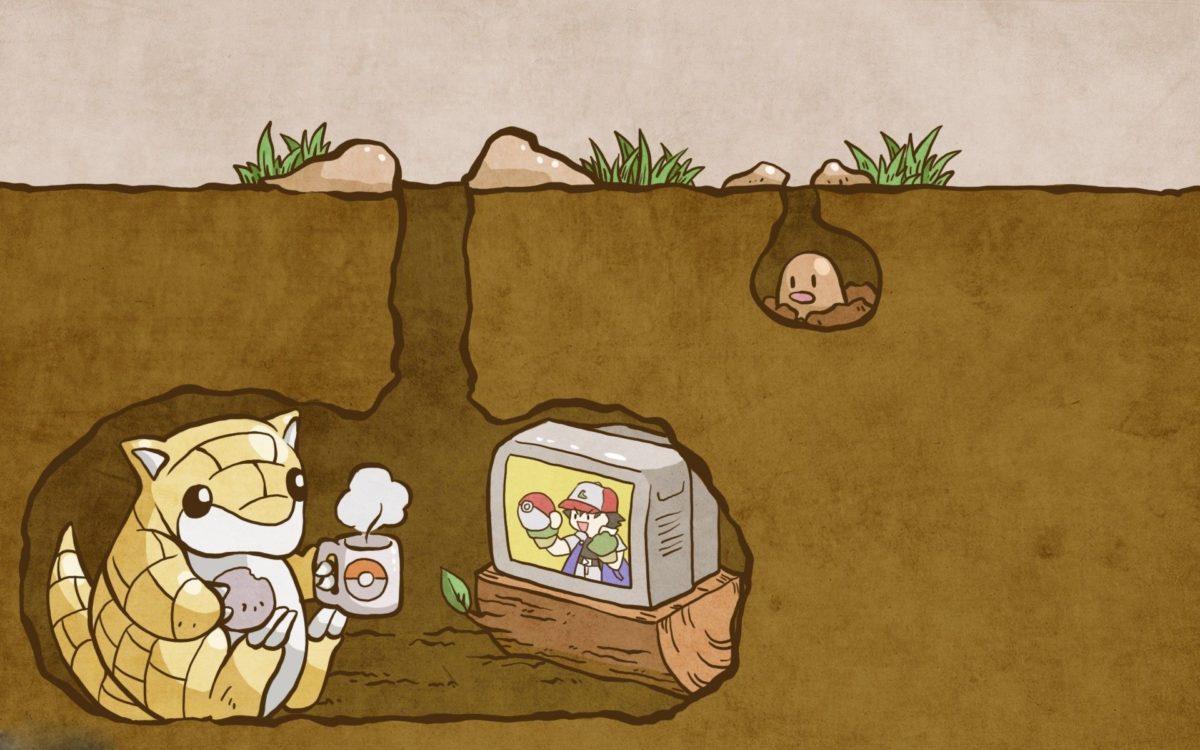 Pokemon, Sandshrew, Split View, TV Wallpapers HD / Desktop and …