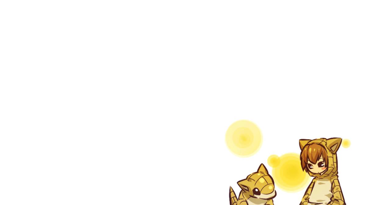 Hitec Pkemon Sandshrew Simple Background – WallDevil