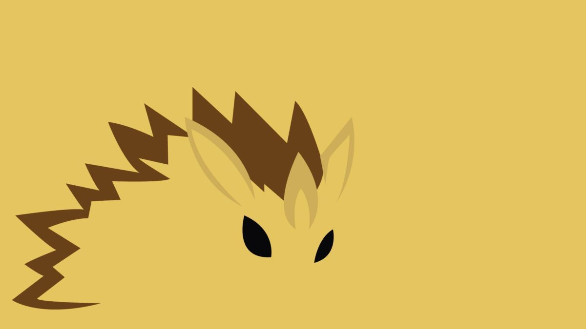 Download 1920×1080 Minimalistic Sandslash – Pokemon wallpaper