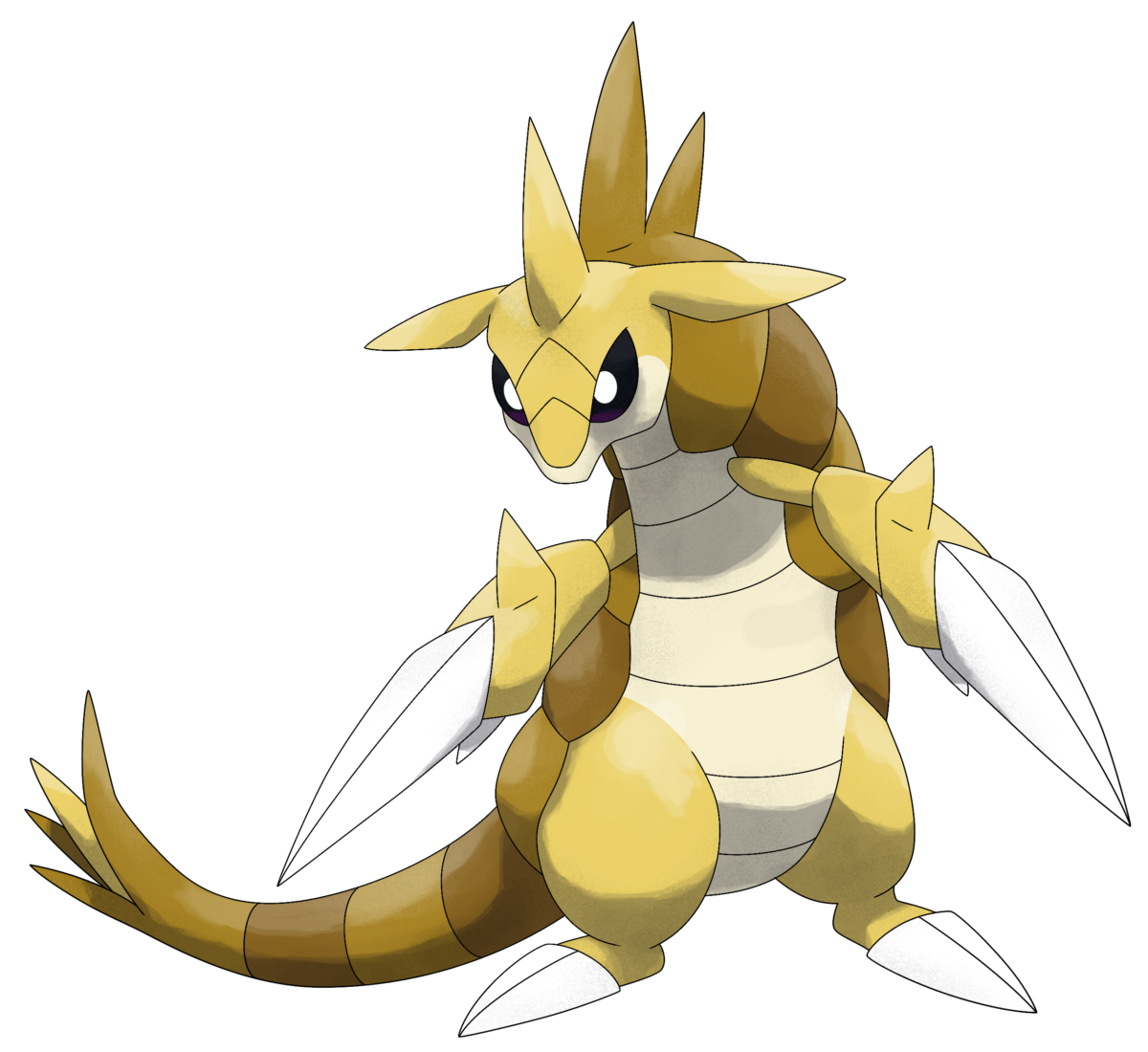 Mega Sandslash by Smiley-Fakemon on DeviantArt