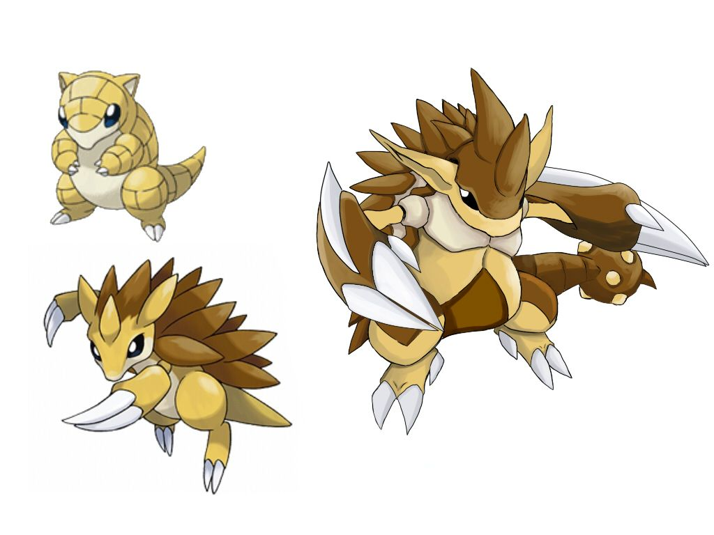 pokemon fake evolution – Sandslash by badafra on DeviantArt