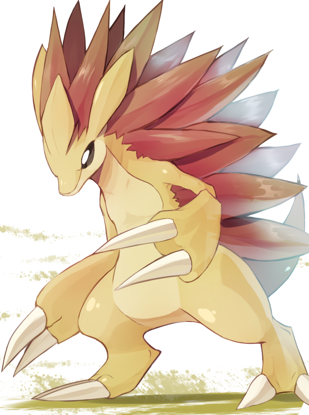 Day 11 ( Ground Type ) – Sandslash Aahh I just feel that Sandslash …