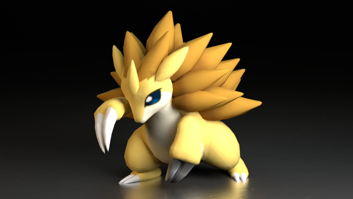 028. Sandslash by TheAdorableOshawott on DeviantArt