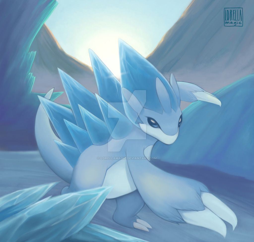 Alolan Sandslash Commission by lorellamagic on DeviantArt