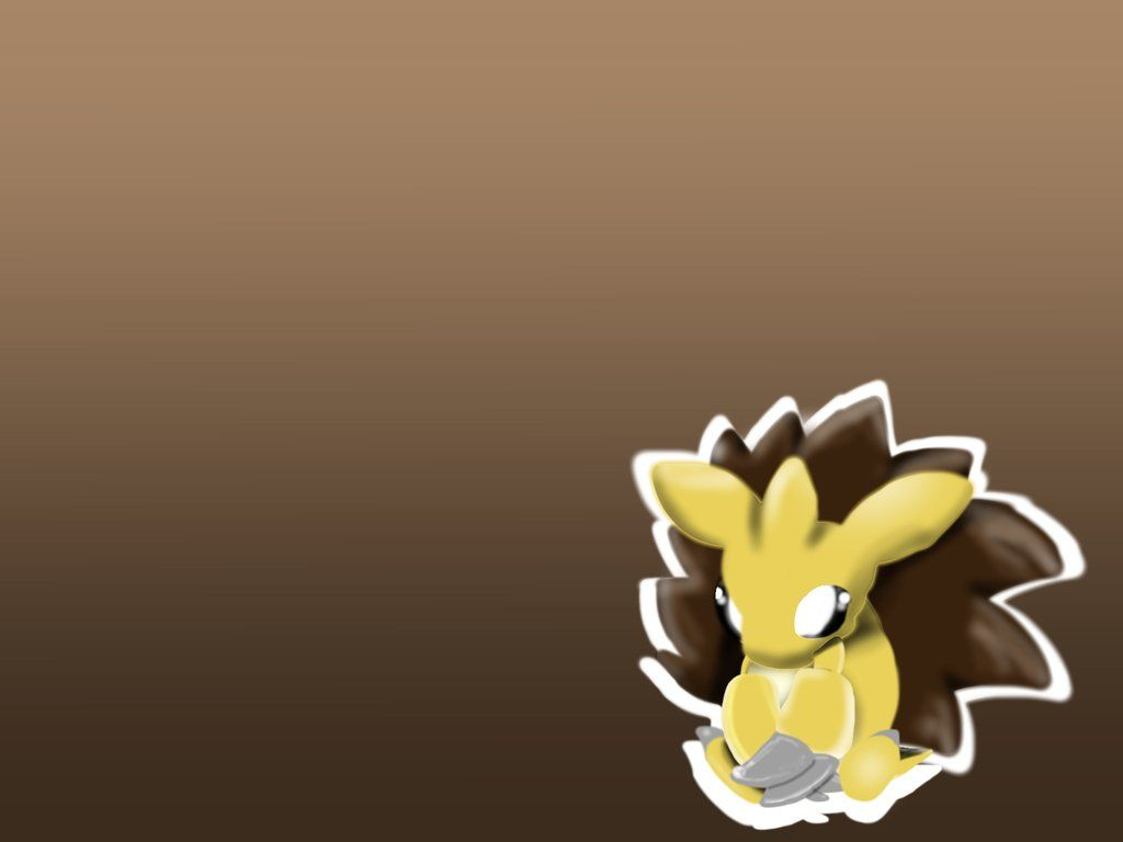 Sandslash wallpaper (outline) by Zerrazoid on DeviantArt