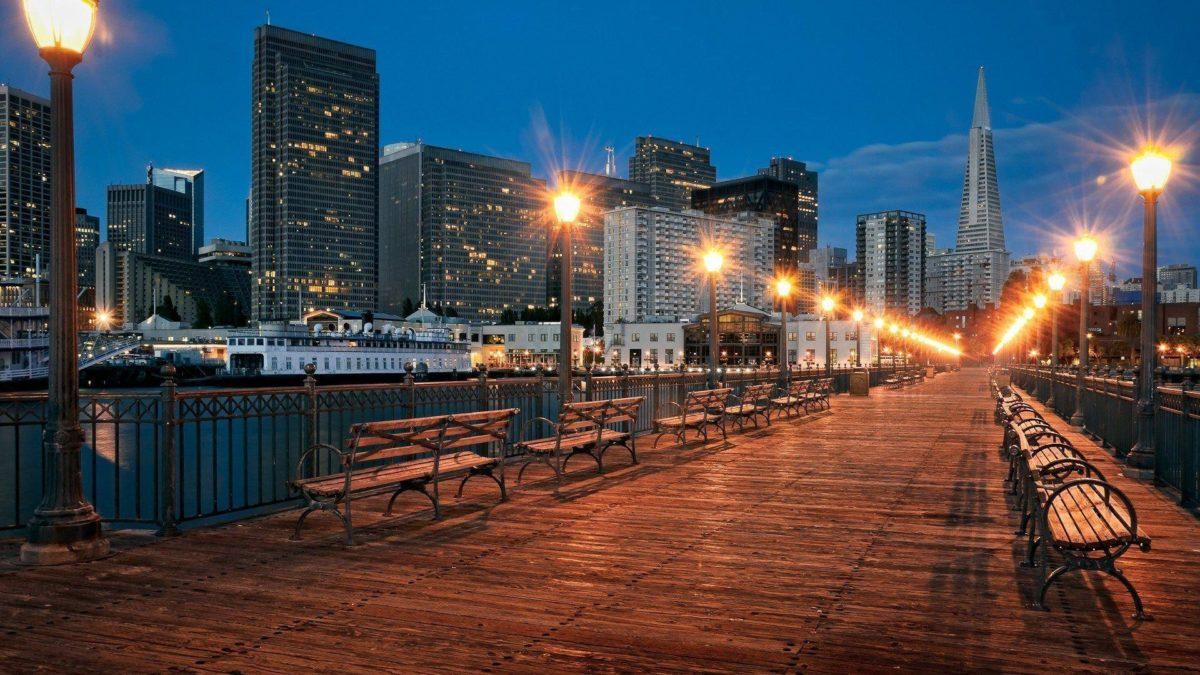 HD San Francisco Pier Wallpaper | Download Free – 108252