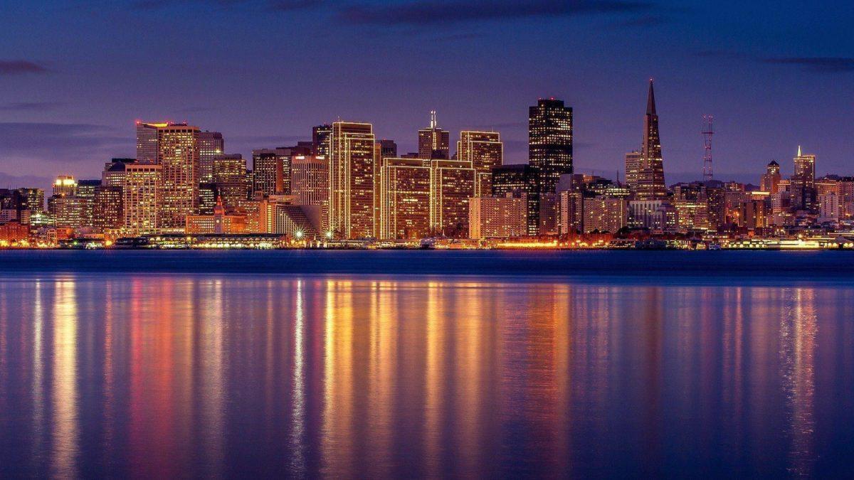 San Francisco USA City Reflection Water HD Wallpaper – ZoomWalls