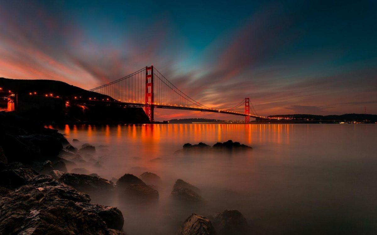 Amazing Bridge, Golden Bridge San Francisco Wallpaper taken from …