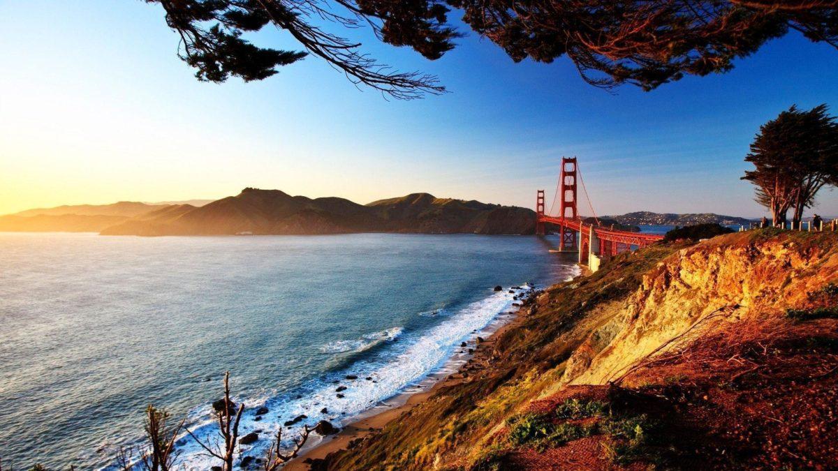 San Francisco Bridge Wallpaper HD #1399 Wallpaper | wallhud.com