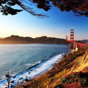 download San Francisco Bridge Wallpaper HD #1399 Wallpaper | wallhud.com