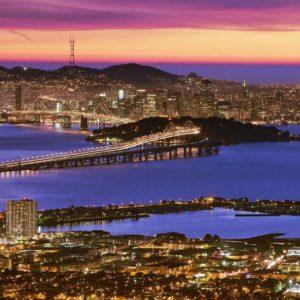 download San Francisco At Dusk – HD Travel photos and wallpapers