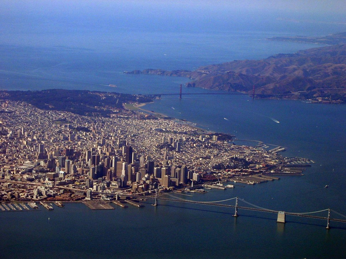 Aerial San Francisco – HD Travel photos and wallpapers