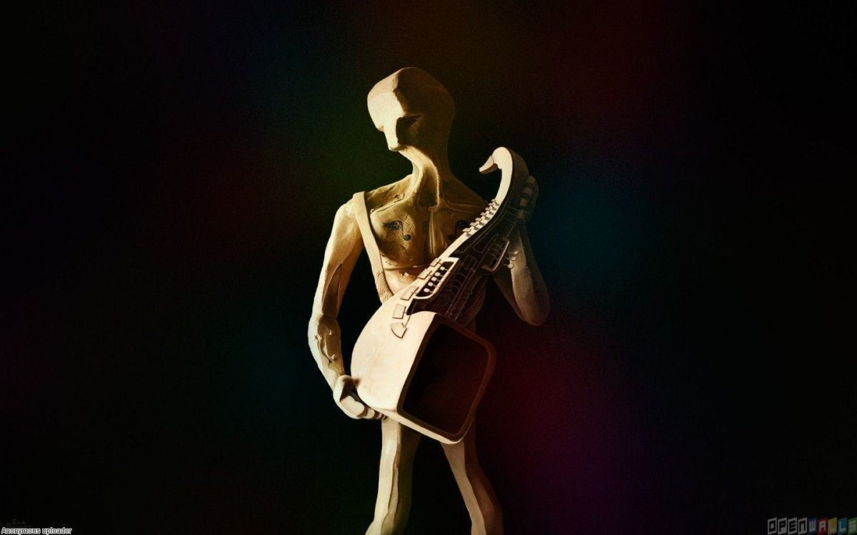 Saxophone Player Wallpaper 7600 Open Walls Picture Pictures