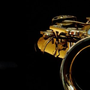 download Shiny Saxophone iPhone Wallpaper high res theme.