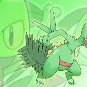 download Treecko, Grovyle, and Sceptile Wallpaper by Glench on DeviantArt