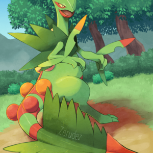 download Mega Sceptile: My Sceptile, Grecki, was one of my first Pokemon to …