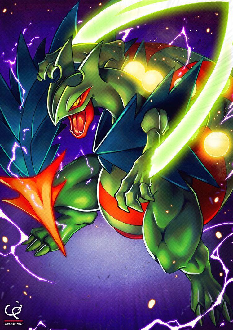 DRAGON BLADE!!! MEGA SCEPTILE!!! by CHOBI-PHO on DeviantArt