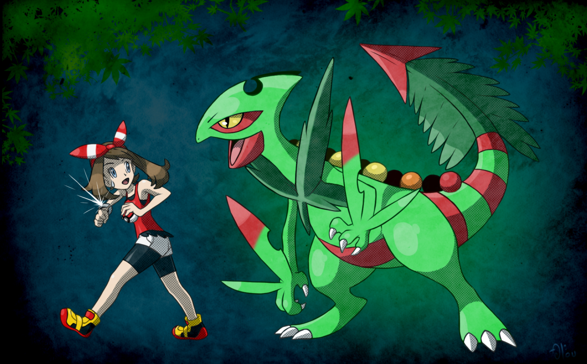 All and Mega Sceptile by All0412 on DeviantArt