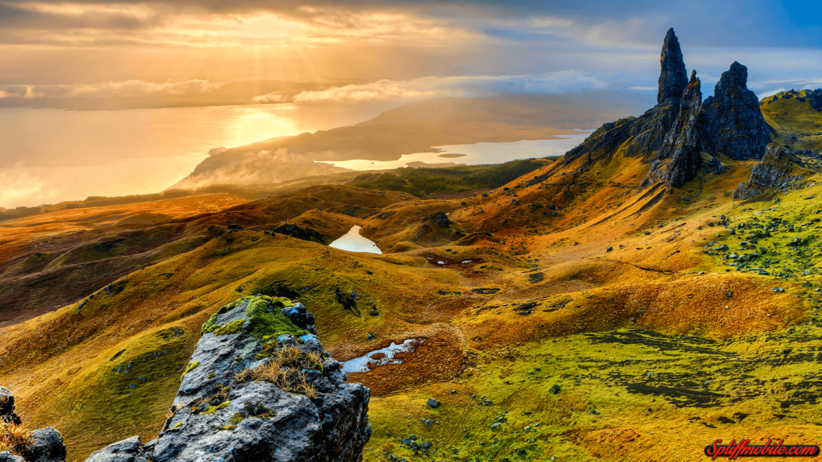 HD Isle of Skye Scotland Wallpaper