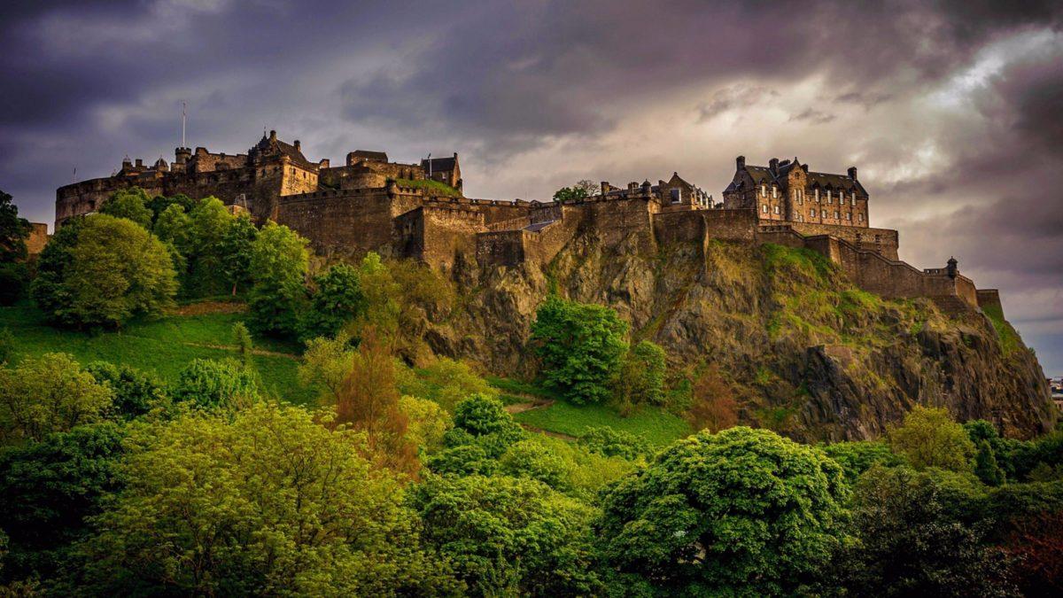 History 4K Edinburgh Scotland Wallpaper | Free 4K Wallpaper