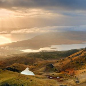 download The Storr Hill Panorama Scotland Wallpapers | Hd Wallpapers