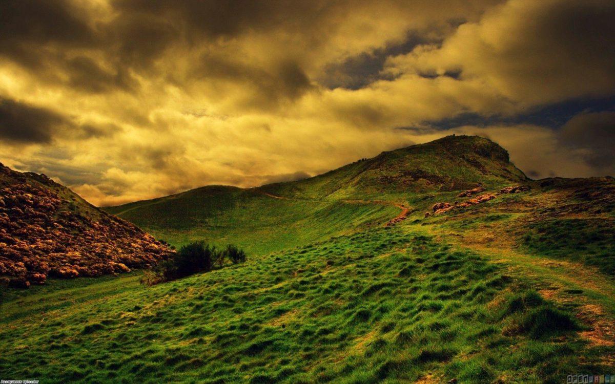 Green hills of scotland wallpaper #15871 – Open Walls