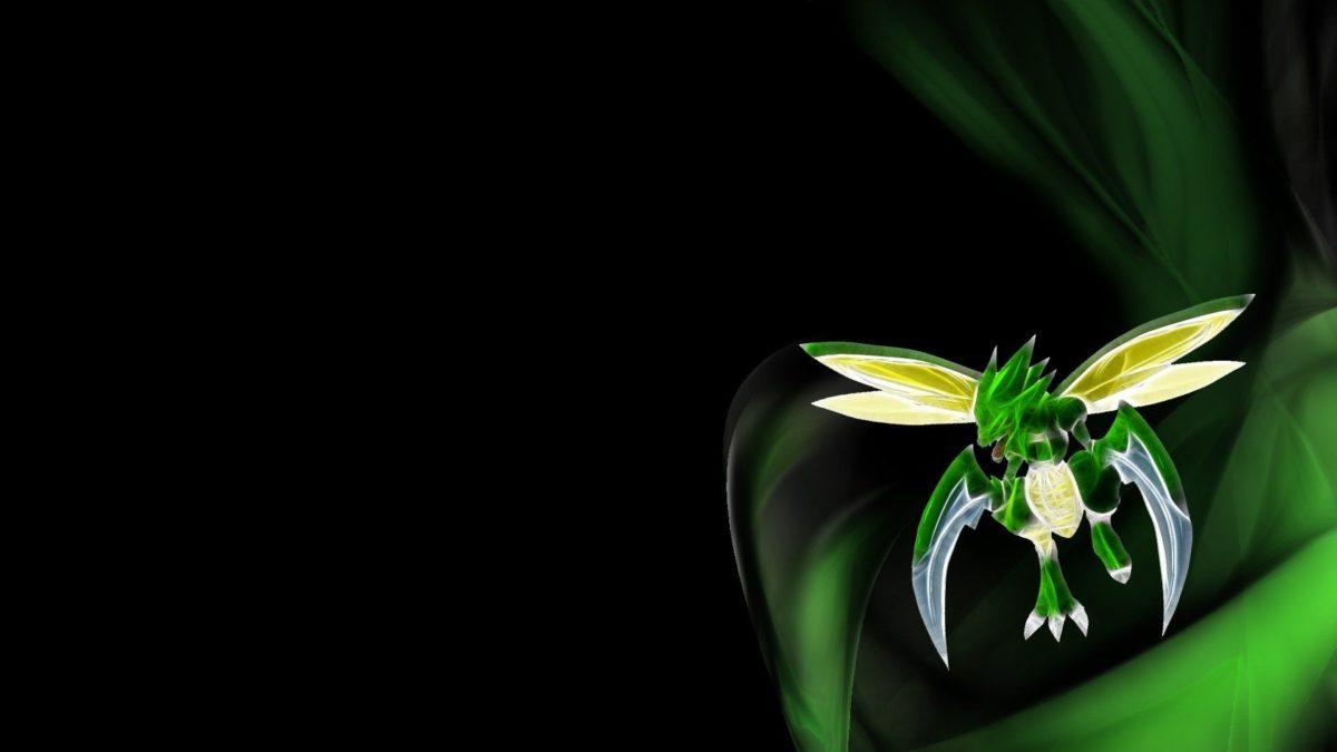 Pokemon Scyther – WallDevil