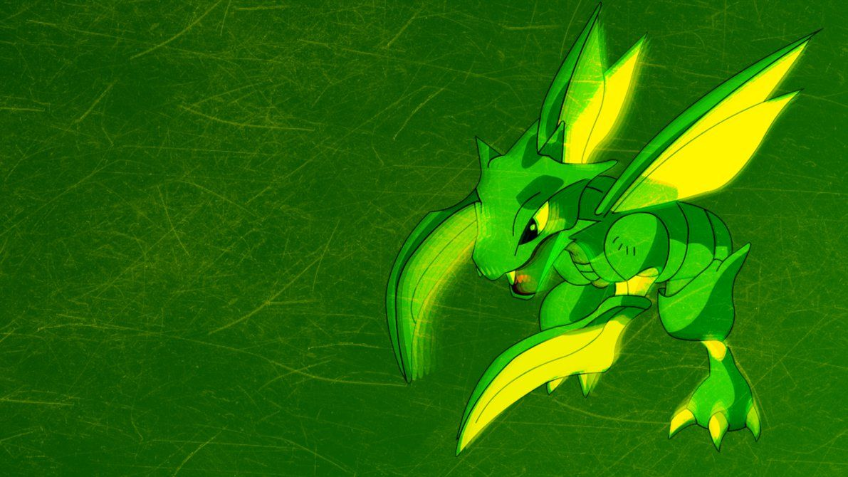 Scyther Wallpaper by Potassiumxthree on DeviantArt