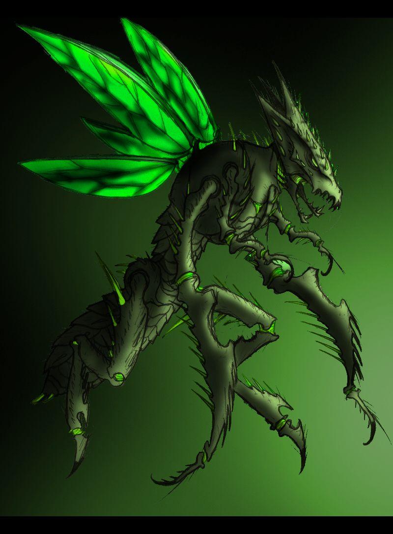 Evil Scyther V1.1 by Someone072 on DeviantArt