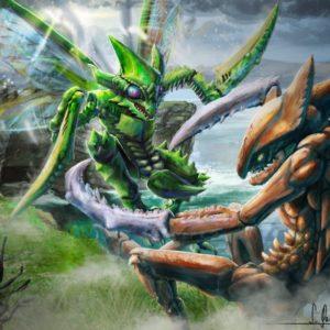 download Pokemon fight – Kabutops VS Scyther by SimonGangl on DeviantArt