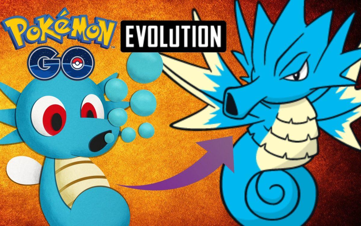 Pokemon Go – Horsea Evolution To Seadra – YouTube