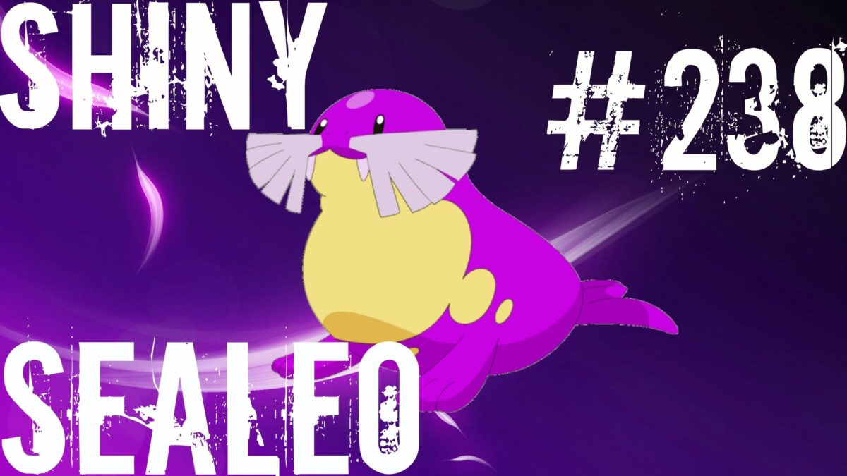 LIVE) Pokemon Omega Ruby/Alpha Sapphire ORAS – Shiny Sealeo #238 …