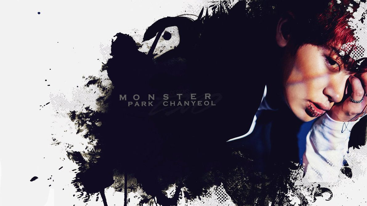 WALLPAPER|CHANYEOL|MONSTER-COMEBACK-EXO by EXOEDITIONS on DeviantArt