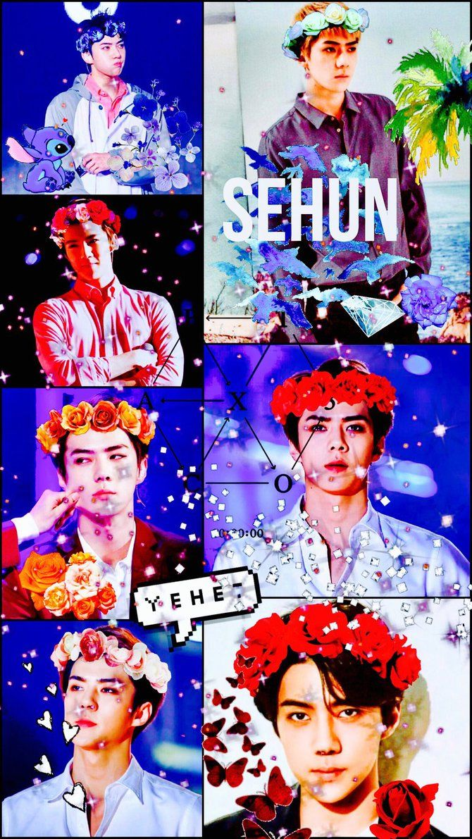 Sehun EXO wallpaper by LegendOfTheAtatsuki on DeviantArt