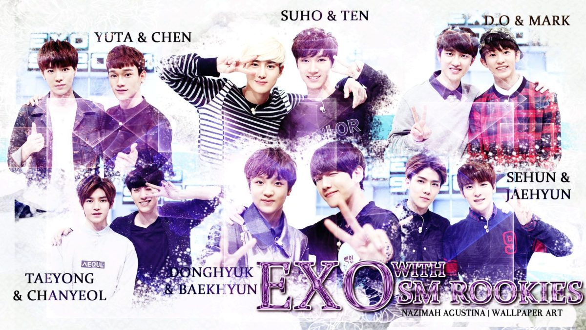Wallpapers] Happy 3rd Anniversary EXO! | ♥ AgustiNazimah Experience ♥