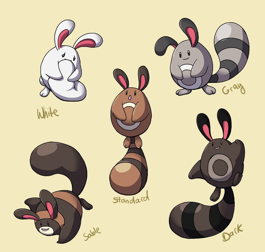 Pokemon Subspecies: Sentret by CoolPikachu29 on DeviantArt